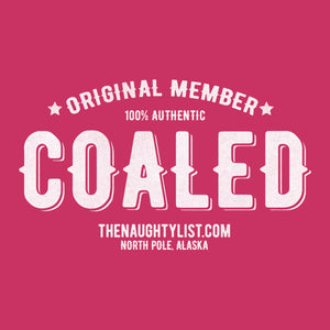 """Original Member"" Coaled - Ladies Short Sleeve V-Neck T-Shirt"