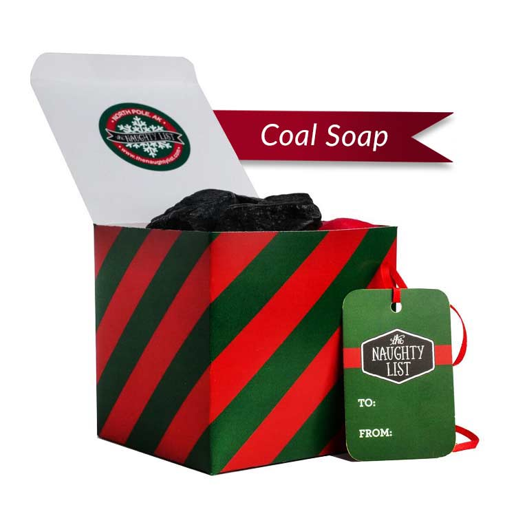 Lumps of Coal Soap - The Naughty List