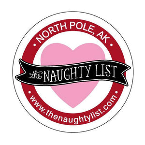 The Naughty List Valentine's Sticker - The Naughty List