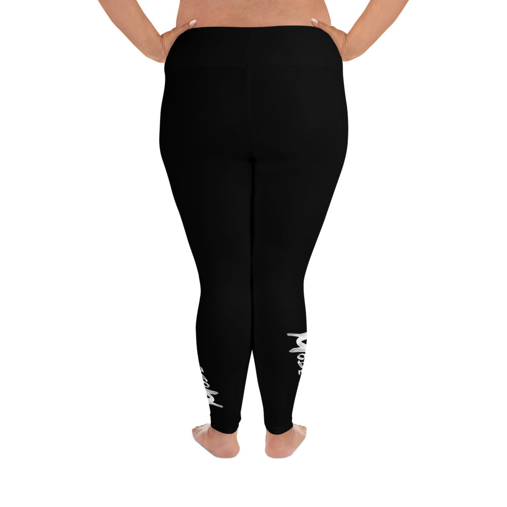 Charcoal Modern-Ish Plus Size Leggings