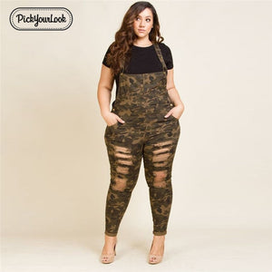 Plus Size Pants Jumper