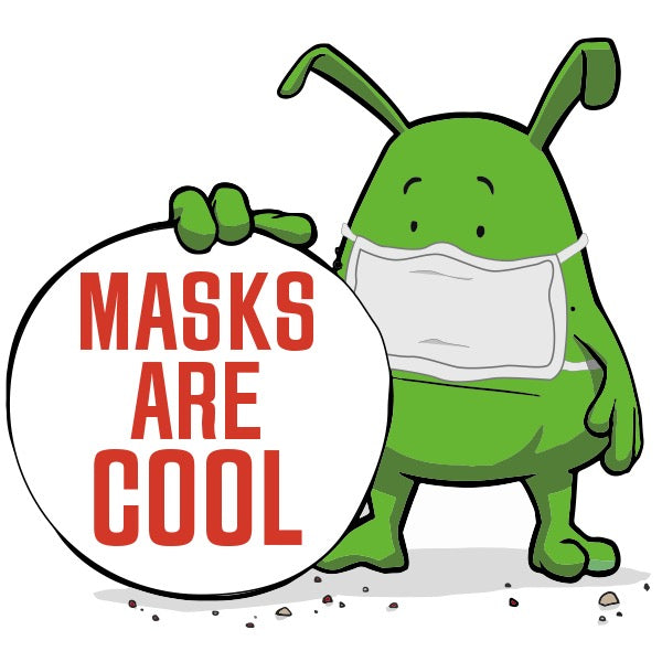 Hau's TOP 10 REASONS why Masks are COOL!