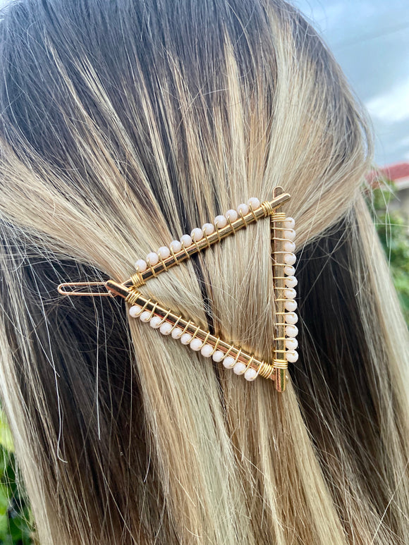 Hairclip Triangle