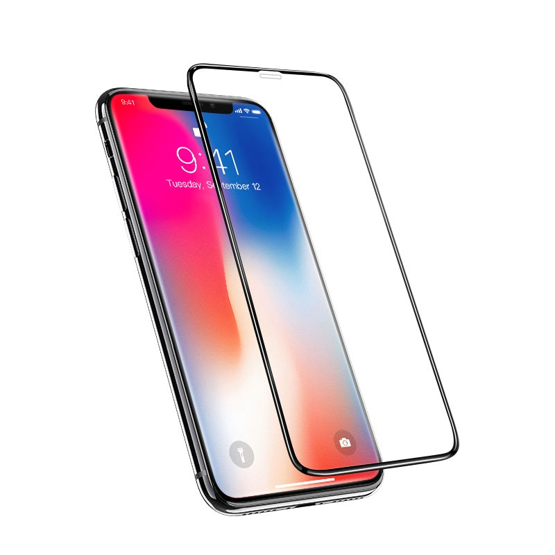 IPhone X screen protector black