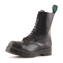 "Classic 11 Eye Steel Toe ""Englander"" in Black"