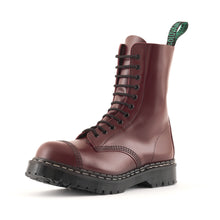 "Classic 11 Eye Steel Toe ""Englander"" in Oxblood"