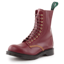 "Classic 11 Eye Steel Toe ""Southerner"" in Cherry"