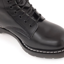 Classic 14 Eye Derby Boot in Black