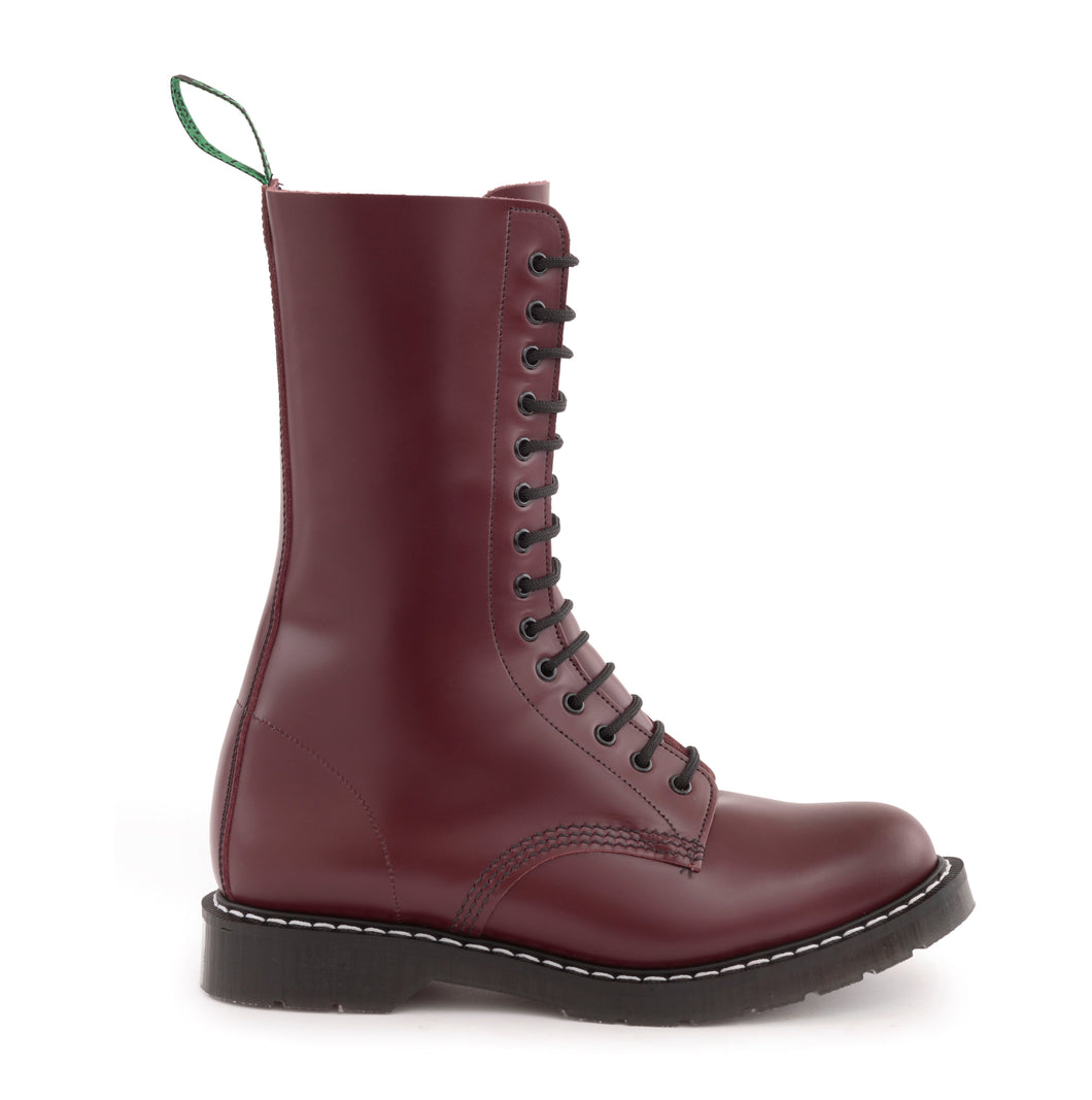Classic 14 Eye Derby Boot in Oxblood