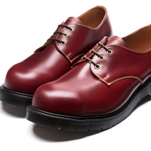 Classic 3 Eye Southerner Steel Toe Shoe in Cherry