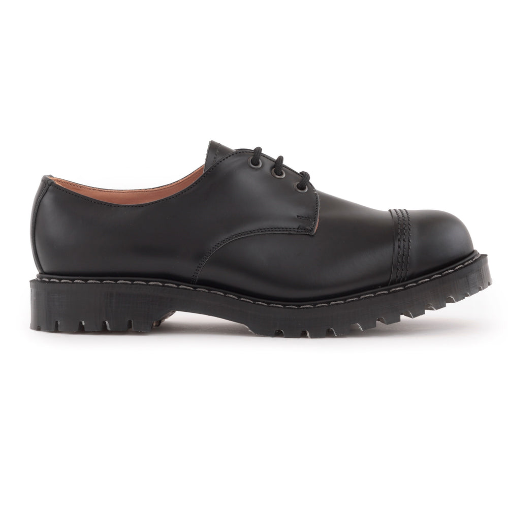 Classic 3 Eye Steel Toe Gibson in Black