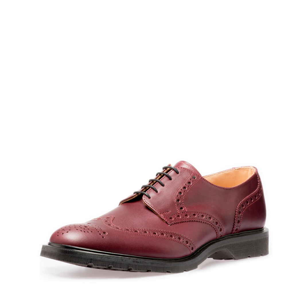 Premium 5 Eye Gibson Brogue in Burgundy