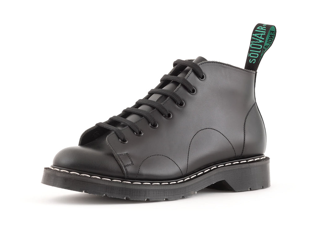Classic 7 Eye Monkey Boot in Black