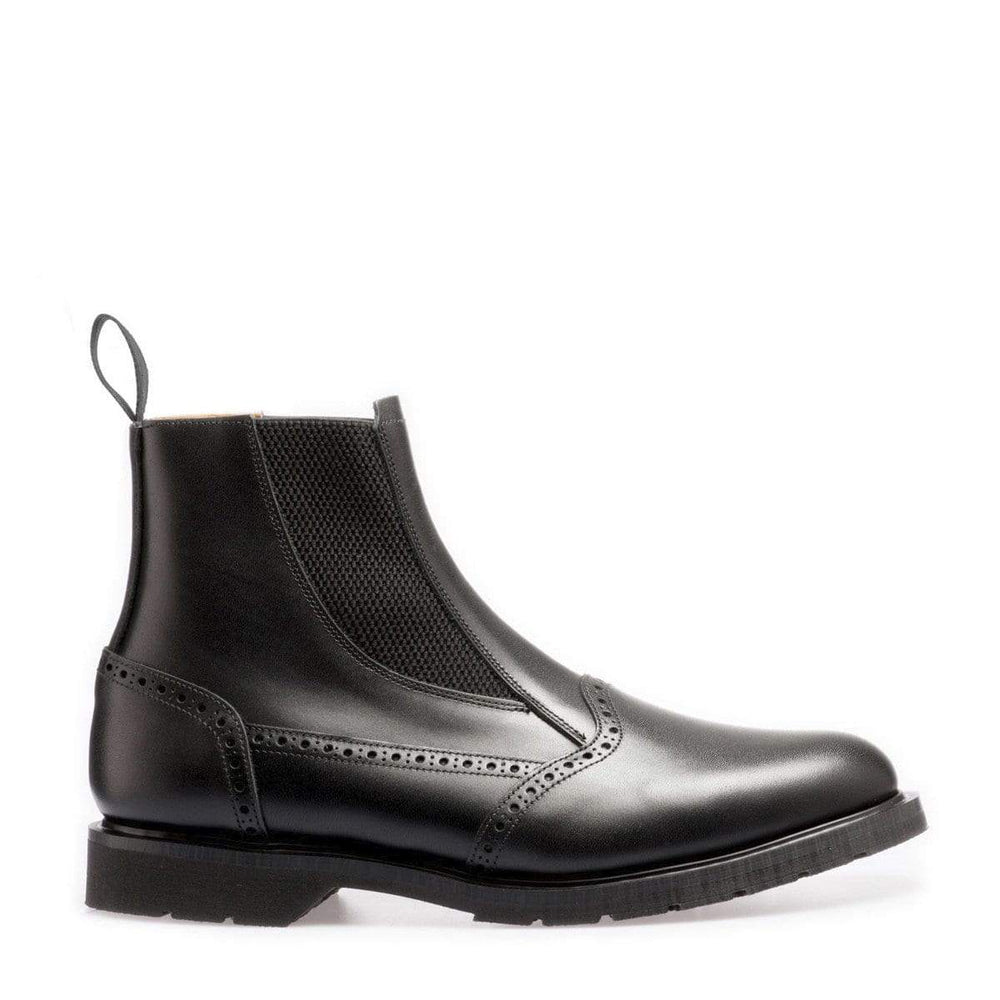 Premium Chelsea Boot in Black