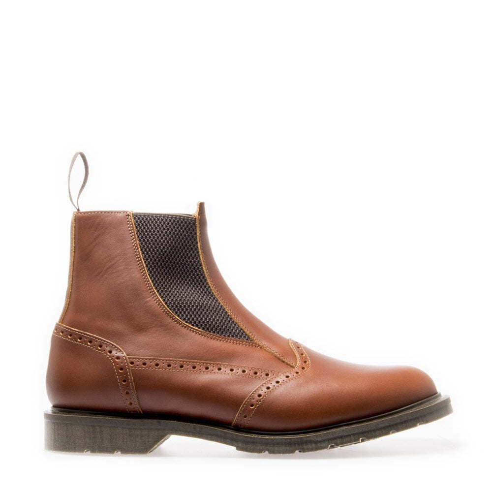 Premium Chelsea Boot in Chestnut