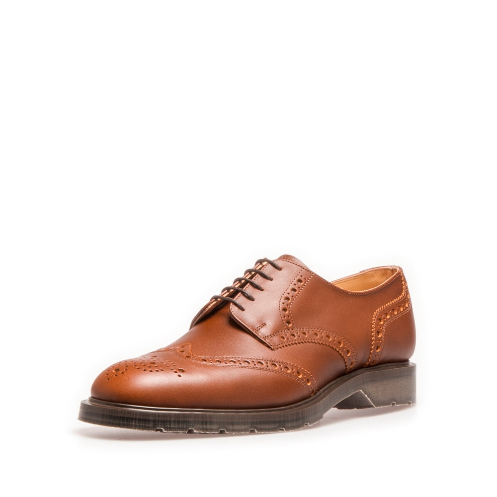 Premium 5 Eye Gibson Brogue in Chestnut