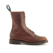 Classic 11 Eye Hawkins Boot in Natural Tan