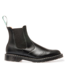 Classic Punched Dealer Boot in Black