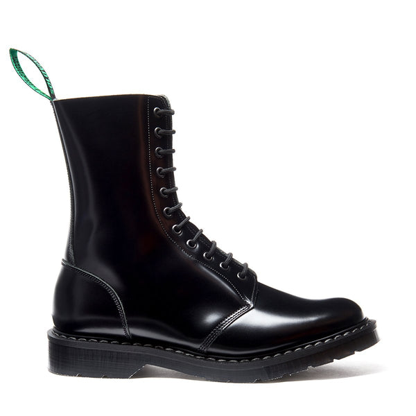 Classic 11 Eye Hawkins Boot in Black