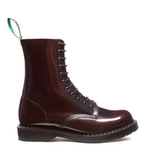 Classic 11 Eye Derby Boot in Burgundy Rub