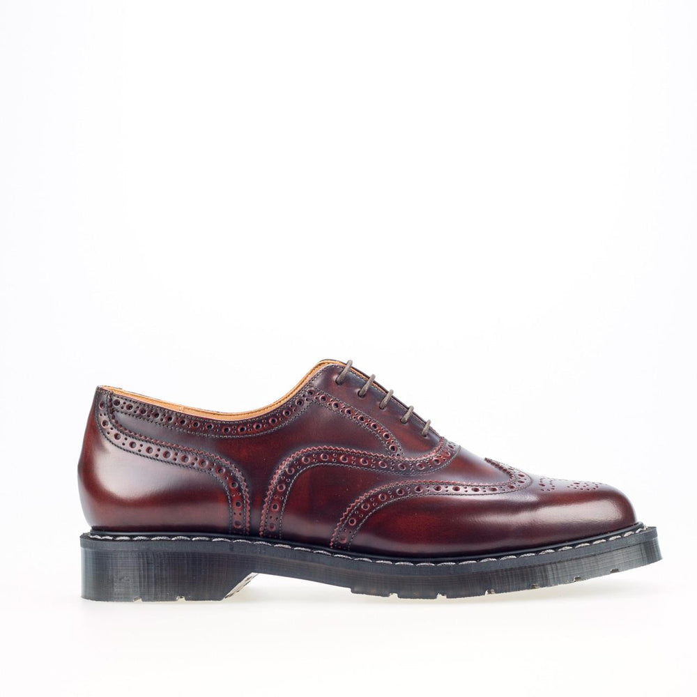 Classic 5 Eye English Brogue in Burgundy