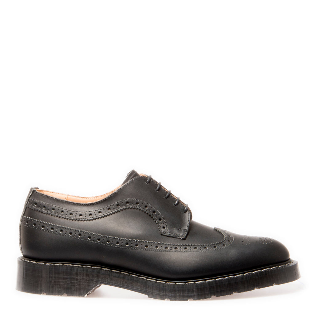 Classic 5 Eye American Brogue in Greasy Black