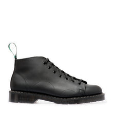 Classic 7 Eye Monkey Boot in Greasy Black