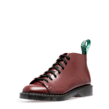 Classic 7 Eye Monkey Boot in Oxblood