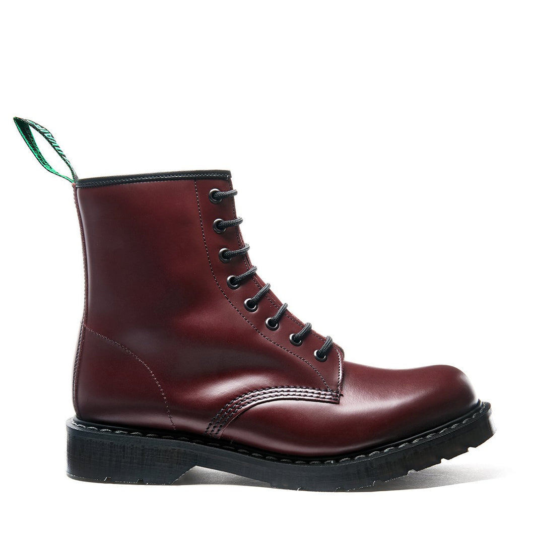Classic 8 Eye Derby in Oxblood