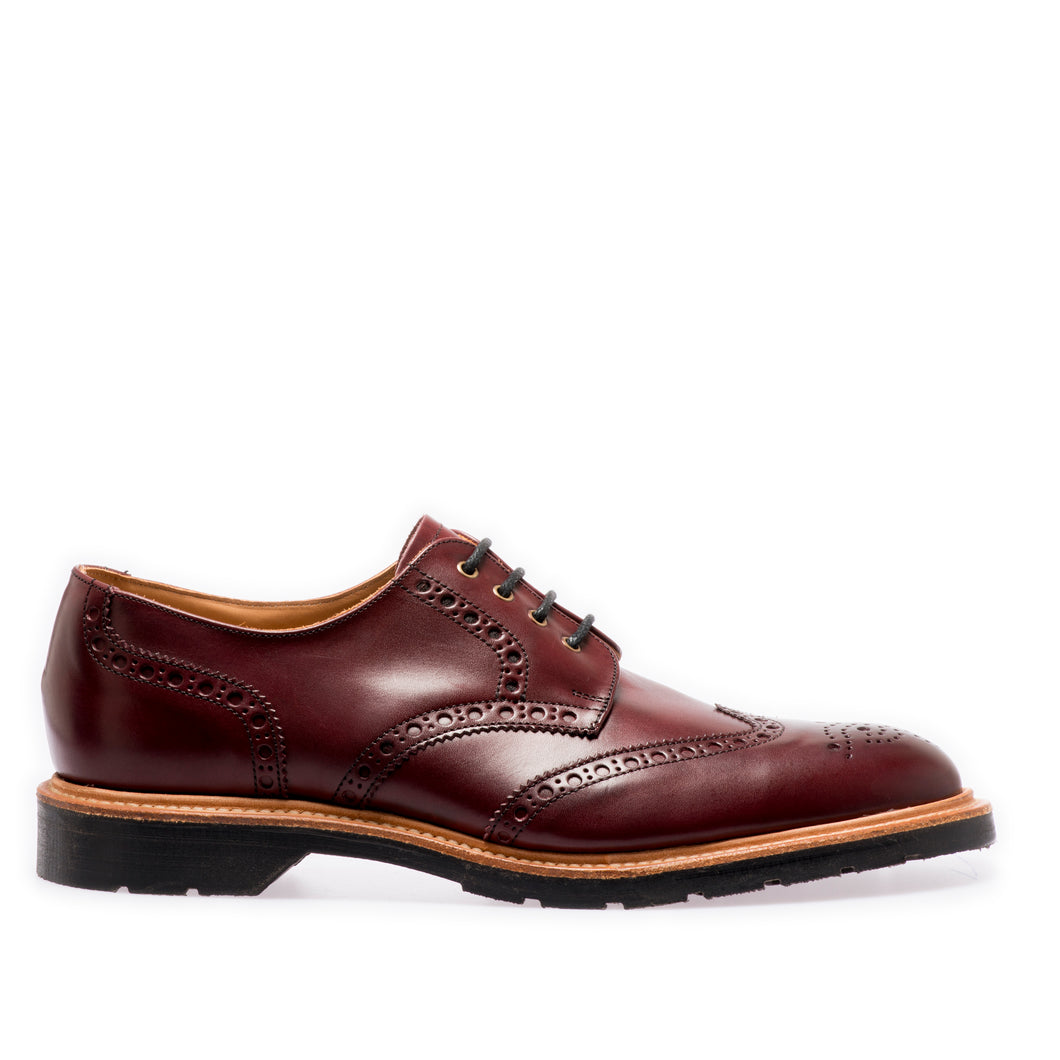Lifestyle 4 Eye Gibson Brogue in Burgundy