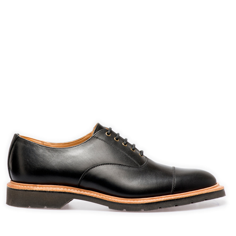 Lifestyle 5 Eye Oxford in Black