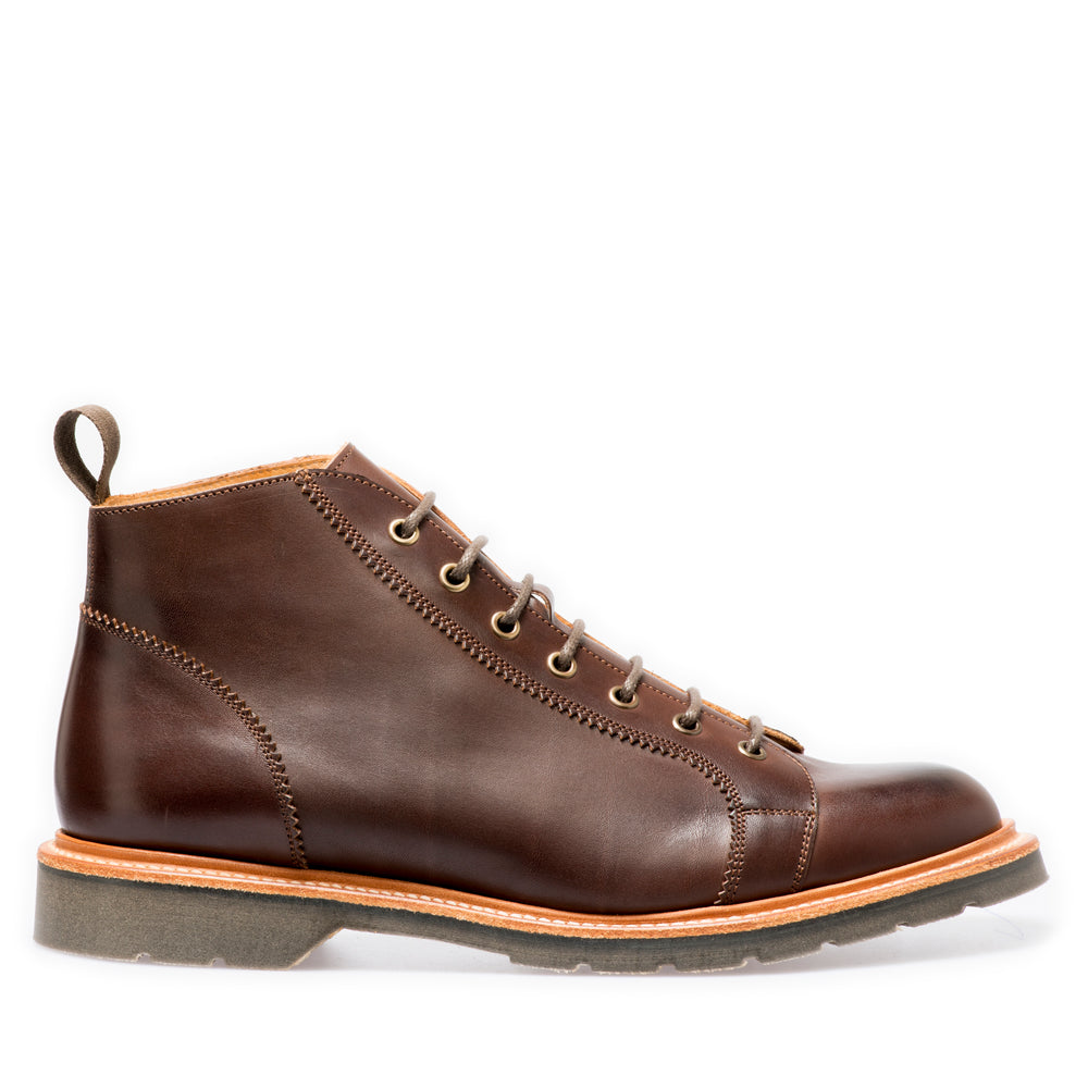 Lifestyle 7 Eye Monkey Boot in Ebony