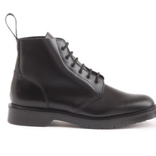 Classic 6 Eye Derby Boot in Black