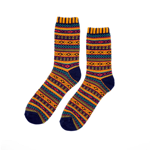 Bohemian Socks - Orange