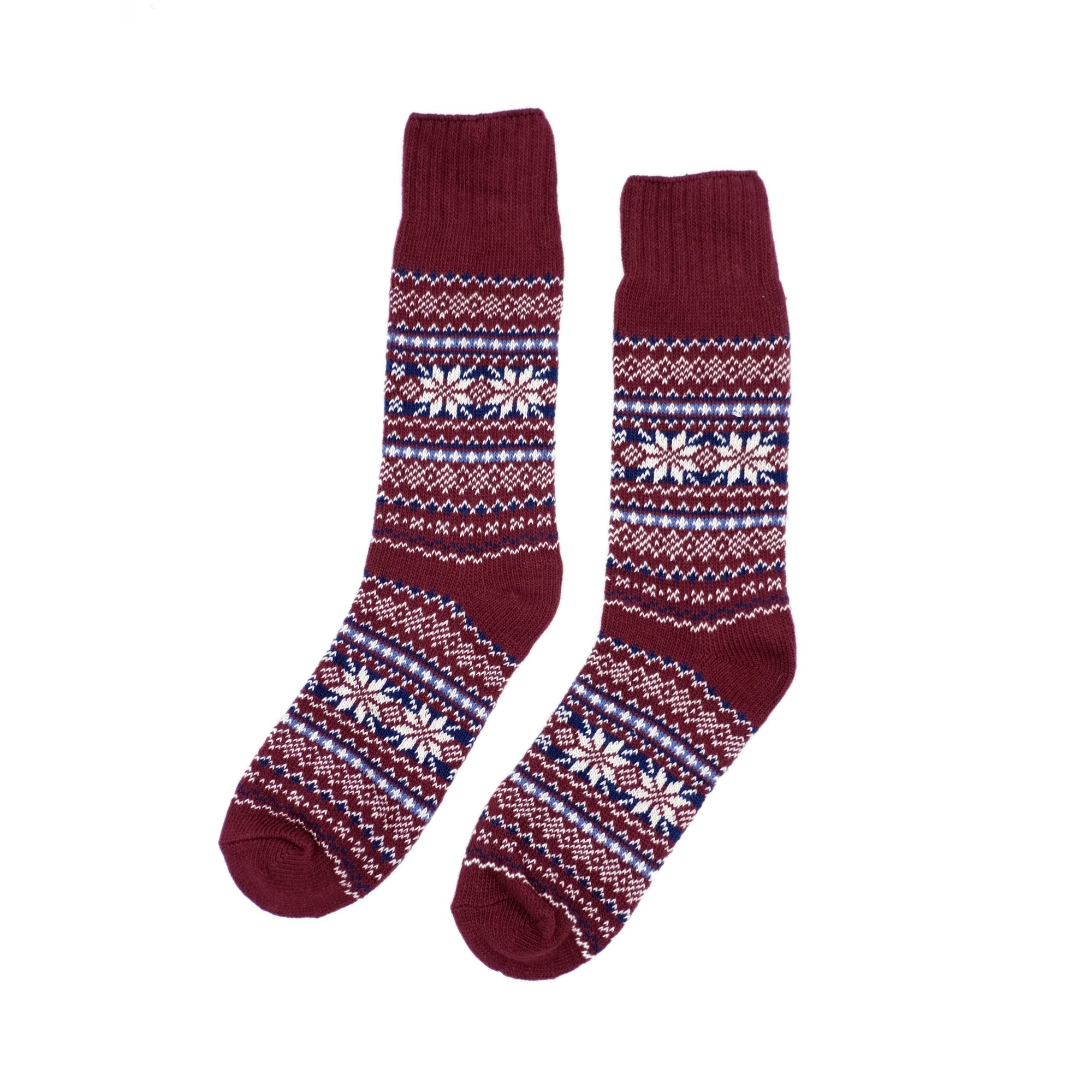 Nordic Socks - Red