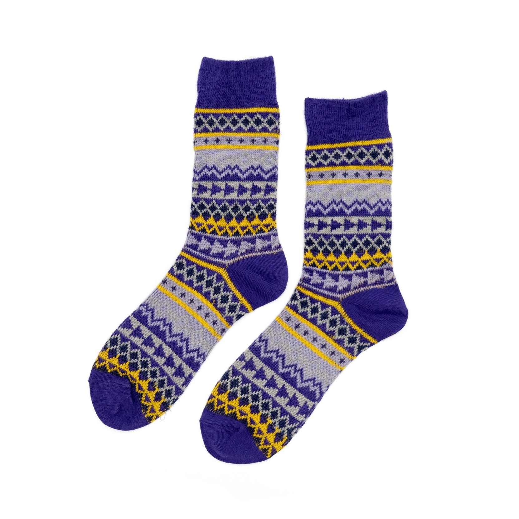 Sankoku Purple Socks