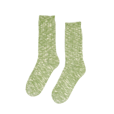 Knitted Socks - Green