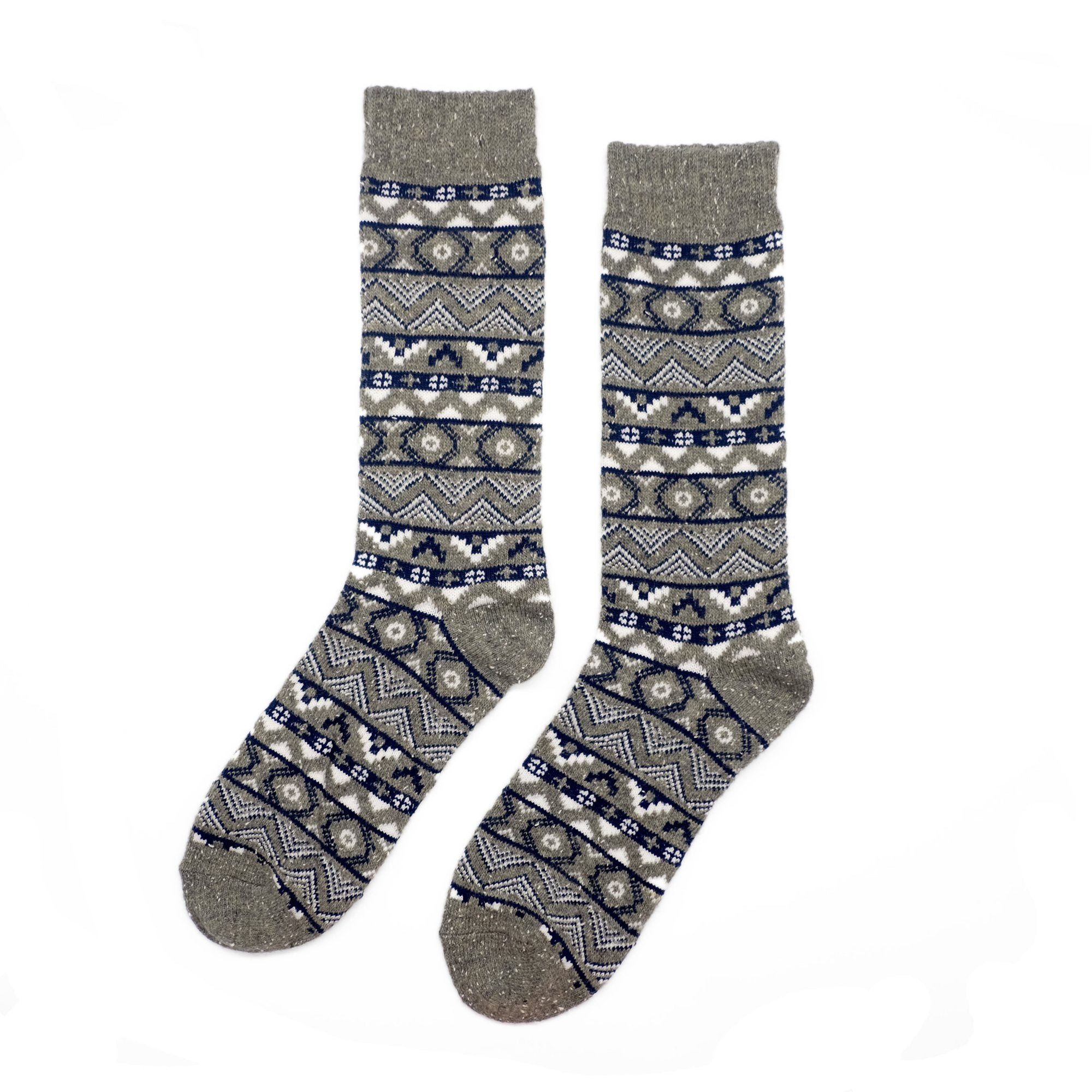 Vuroi Wool Socks - Gray
