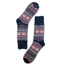 Load image into Gallery viewer, Nordic Socks - Navy