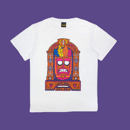 Official Crash Bandicoot Aku Aku T-Shirt