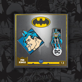 Pin Kings DC Comics Batman Enamel Pin Badge Set 1.3