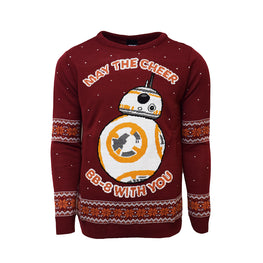 Official Star Wars BB-8 Christmas Jumper / Ugly Sweater
