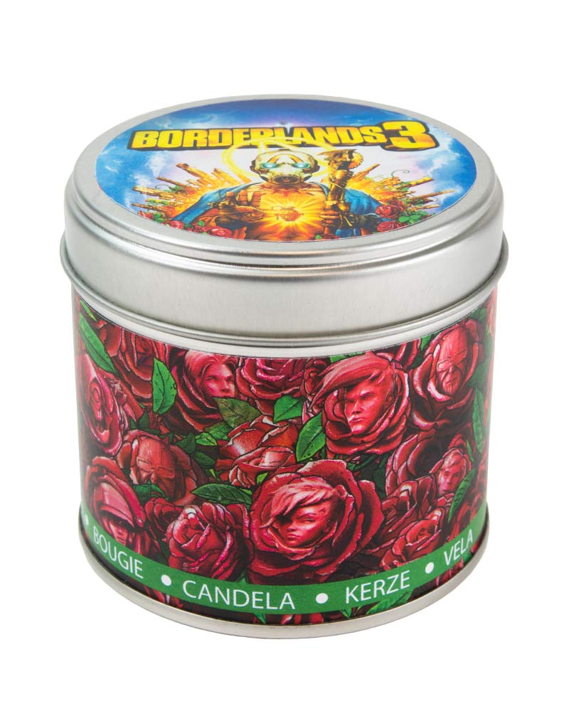 Official Borderlands 3 Tin Scented Candle