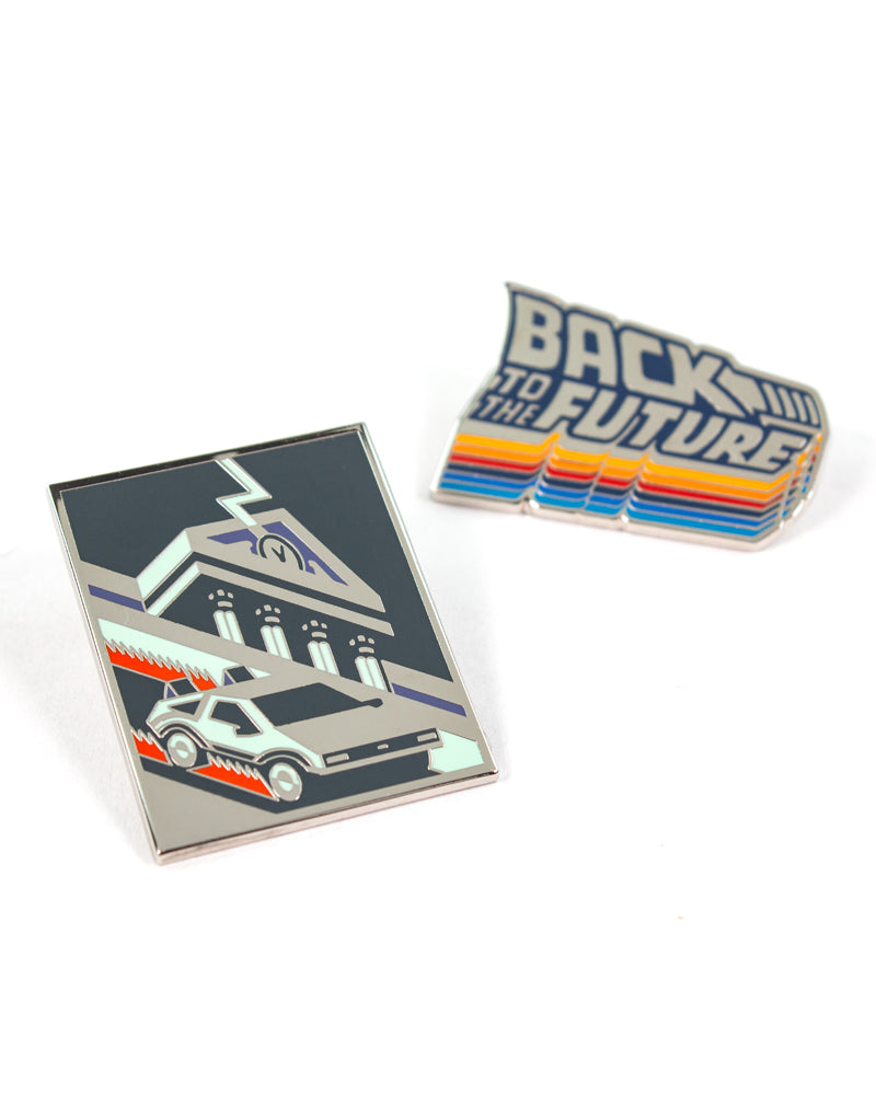 Pin Kings Back to the Future Enamel Pin Badge Set 1.1