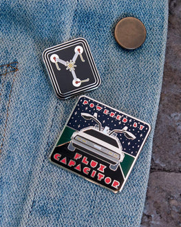 Pin Kings Back to the Future Enamel Pin Badge Set 1.2