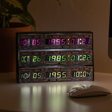 Official Back To The Future 3D Desk Lamp / Wall Light