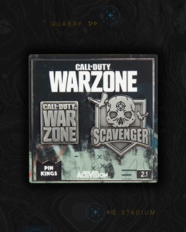 Pin Kings Call of Duty Warzone Enamel Pin Badge Set 2.1
