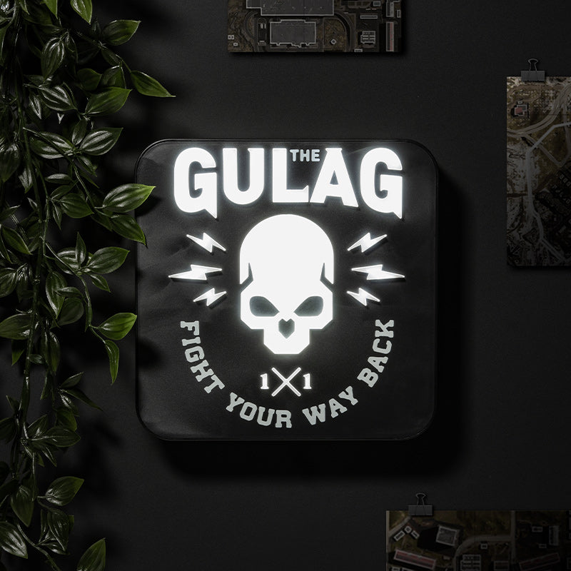 Official Call Of Duty Warzone Gulag 3D Desk Lamp / Wall Light