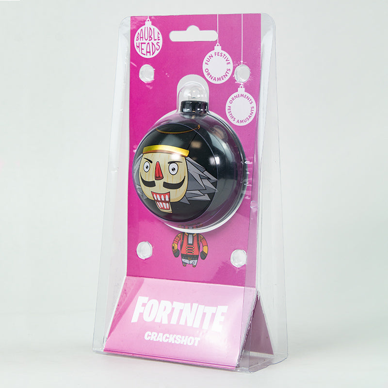 Bauble Heads Fortnite 'Crackshot' Christmas Decoration / Ornament
