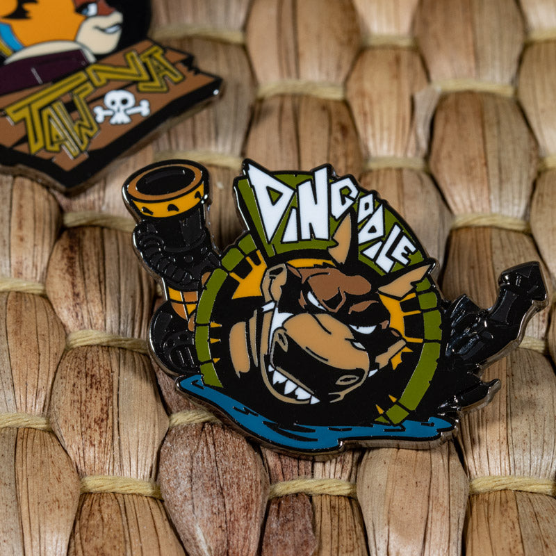 Pin Kings Crash Bandicoot Enamel Pin Badge Set 1.3 – Tawna/Dingodile